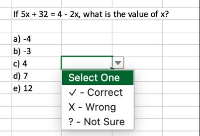 NRET multiple-choice format question.