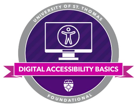 Digital Accessibility Basics Badge